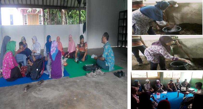 Pelatihan Pupuk Organik Untuk Ibu Desa Pangebatan