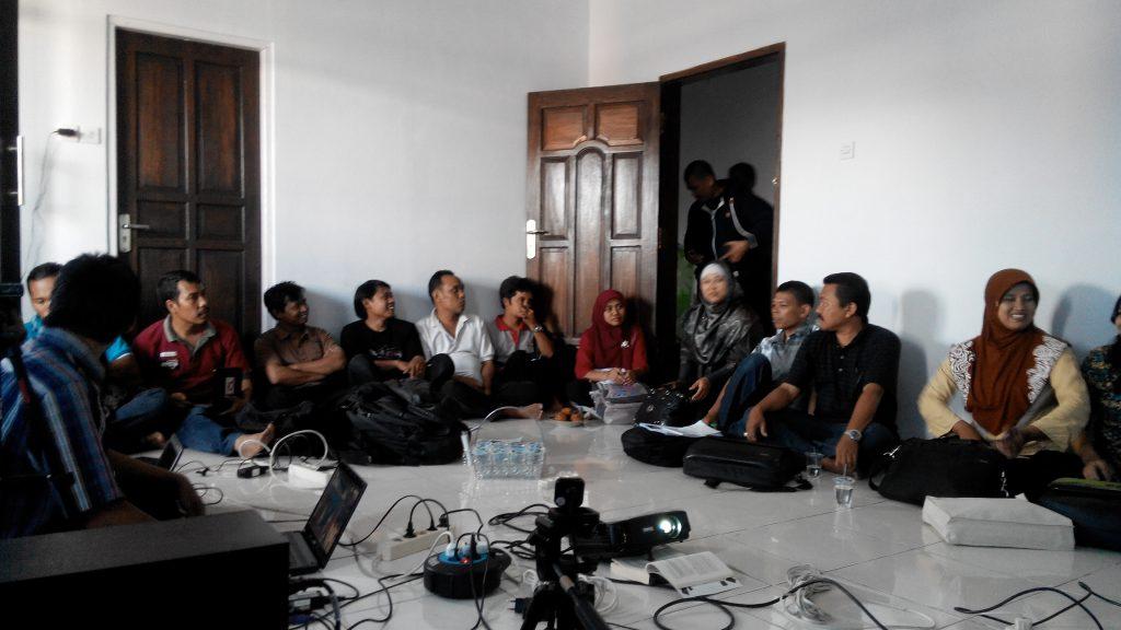 workshop edit tulisan website desa banyumas