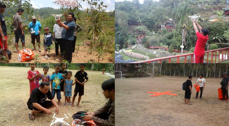 kegiatan pemetaan di desa dermaji banyumas bersama gedhe foundation dan bukapeta