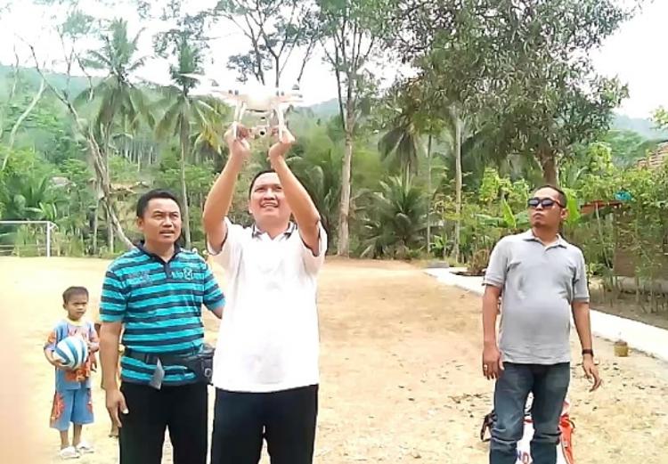 pemanfaatan drone untuk pemetaan desa di desa dermaji
